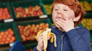 Tesco's Free Fruit initiative for kids.