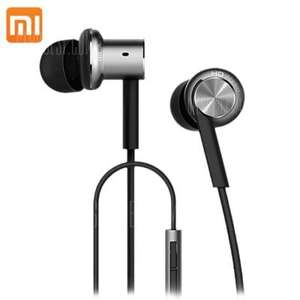 Original Xiaomi Mi IV Hybrid Dual Drivers Earphones flash sale £10.80 @ Gearbest