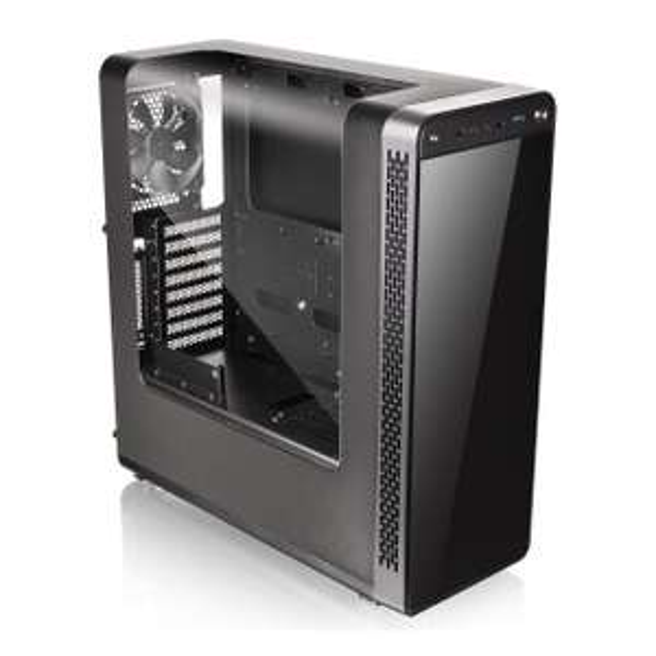 View 27 Thermaltake Gull Wing Windowed PC Gaming Midi Case £44.48 @ Scan