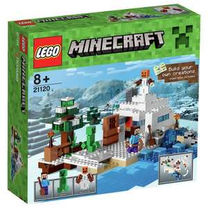 LEGO Minecraft The Snow Hideout Playset - 21120. From the Argos Shop on ebay - £24.30 (C&C)
