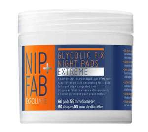 Nip+Fab Glycolic Fix Extreme pads 2 for £12 (£14.95 each) @ Superdrug