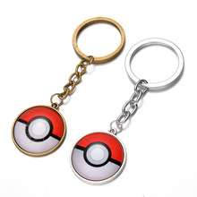 Pokemon Pokeball Metal Keyring only 35p delivered @ AliExpress (Magic Jewelry Box)