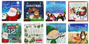 10 Kids Books For £10 Including Christmas Books with Free C+C @ The Works