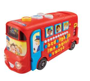 VTech Baby Playtime Bus with Phonics - Red now £13.20 C+C @ Tesco Direct