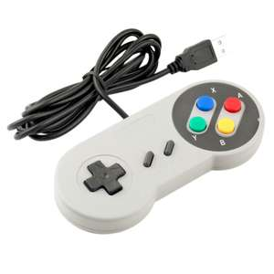 SNES Classic USB Controller £1.54 delivered w/code @ Gearbest