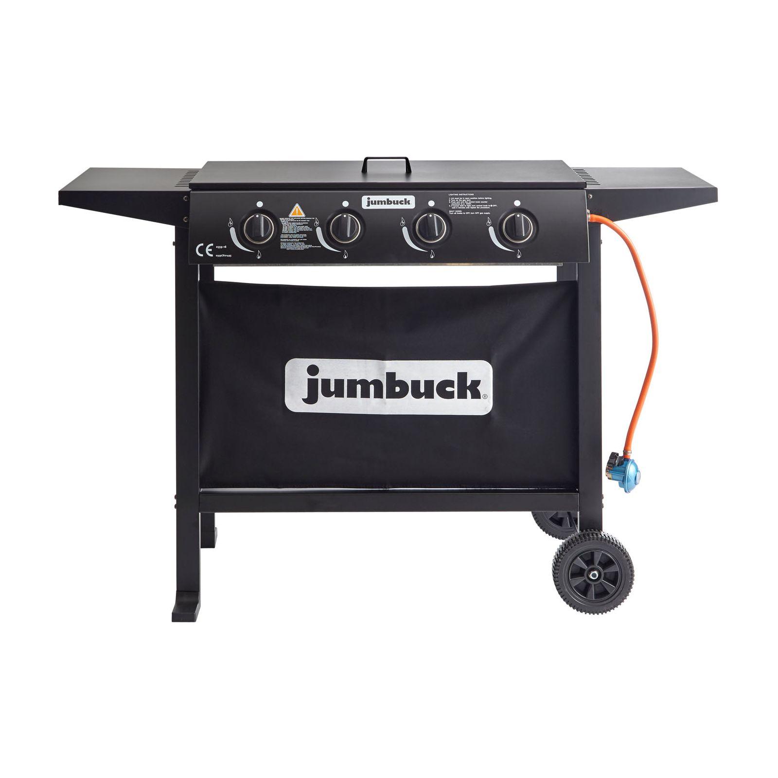 Jumbuck 4 Burner Flat Top Urban BBQ £99 @ Homebase (Instore)