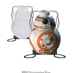 Bb8 Drawstring Bag - 1p instore @ Argos