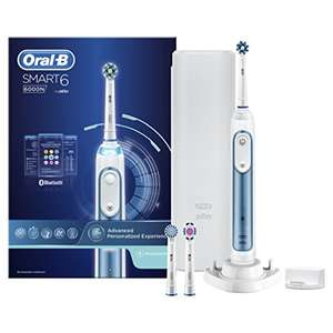 Save over £100 - Oral-B Smart 6 6000N Electric Toothbrush Powered By Braun