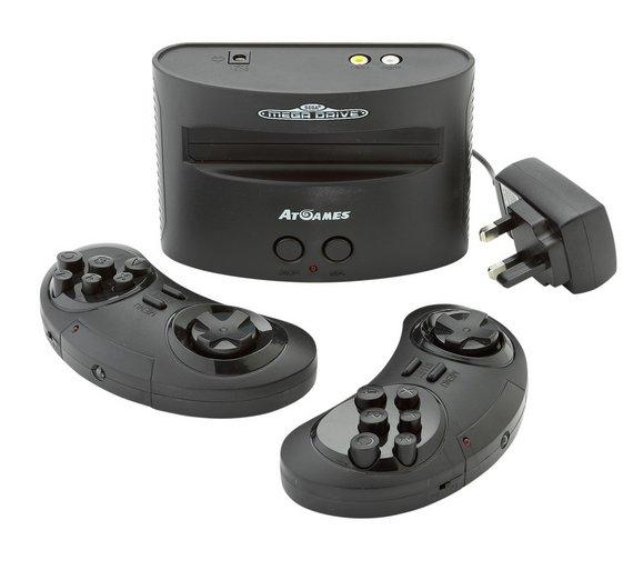 Sega Megadrive With 80 Built-In Games - £39.99 @ Argos (C&C)
