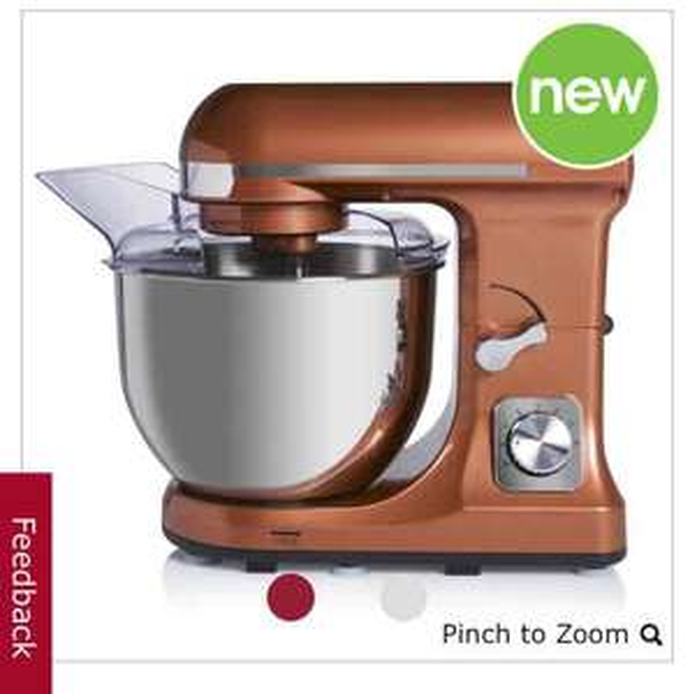 Wilko copper effect stand Mixer. - £60 @ Wilko (C&C)
