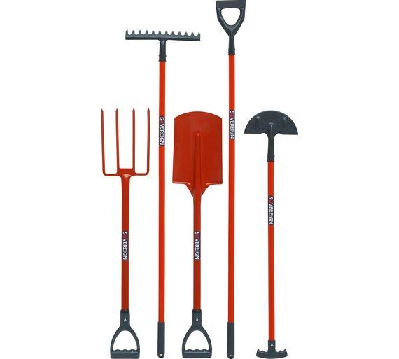 Sovereign 5 Piece Set of Garden Tools - 6.7kg - £2.99 @ Argos (C&C)