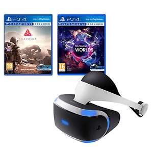 Sony PlayStation VR  + Farpoint PS VR + VR Worlds £310.95 with 2 years guarantee​ @ John Lewis