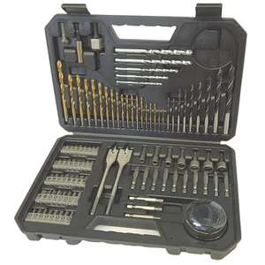 Bosch Professional Titanium drill and screwdriving set - 103 Piece £19.91 @ CPC Farnell