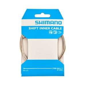 Shimano Stainless Steel inner gear cables at Wiggle - £1.68 + £1.99 Delivery (£3.68)