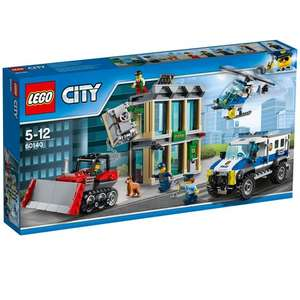 Lego city bulldozer break out reduced at Smyths - £39.99