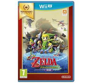 Legend of Zelda Windwaker HD for Wii U £11.99 @ Argos