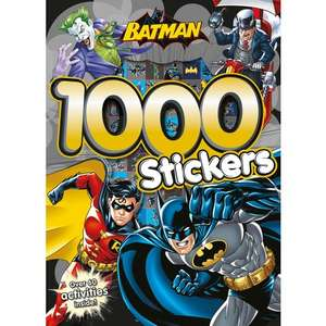 DC Comics Batman 1000 Sticker Activity Book £1 @ Smyths (In-Store Only)