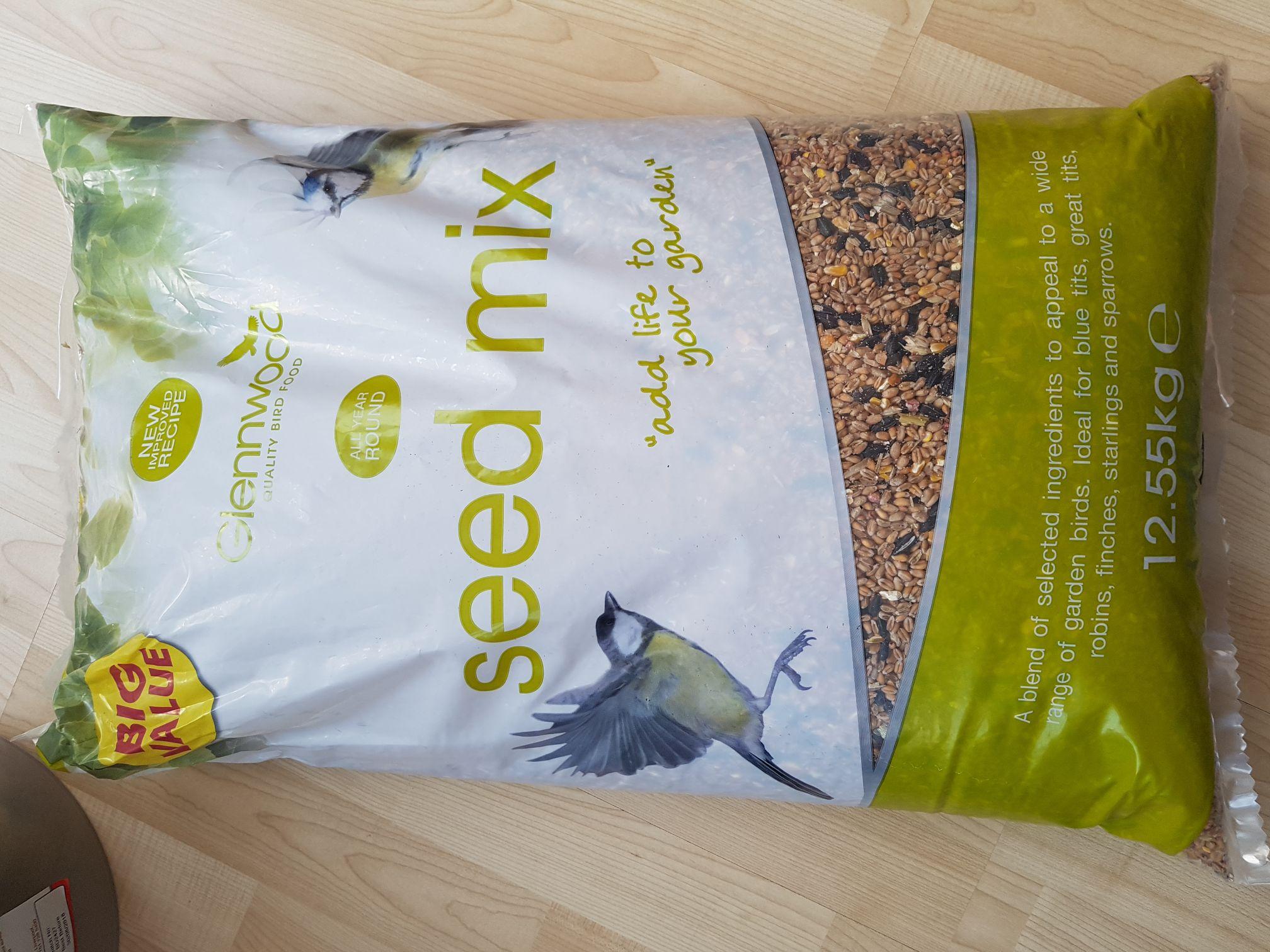 12.55kg Bird Feed £3.99 @ B&M