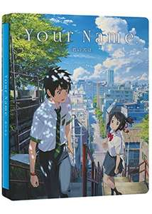 Your Name Blu-Ray + DVD + CD Steelbook £14.99 @ Base.com