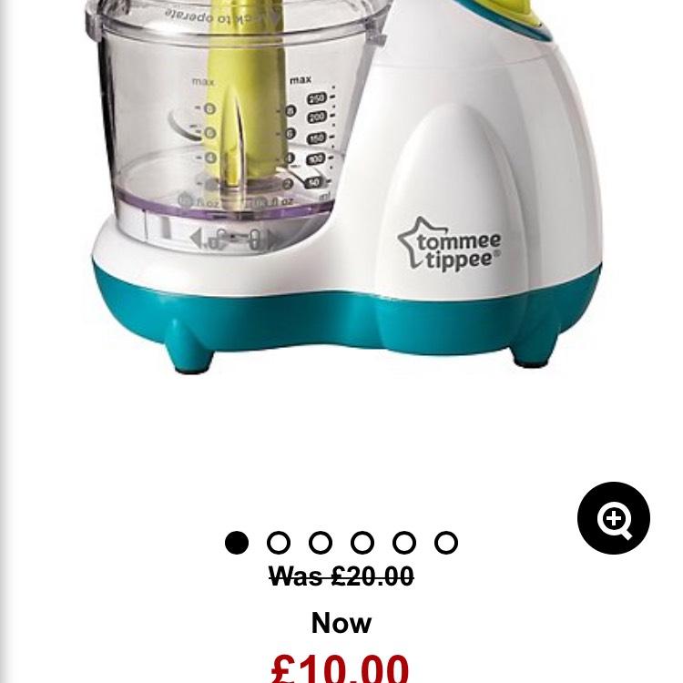 Tommee tippee blender £10 Asda online