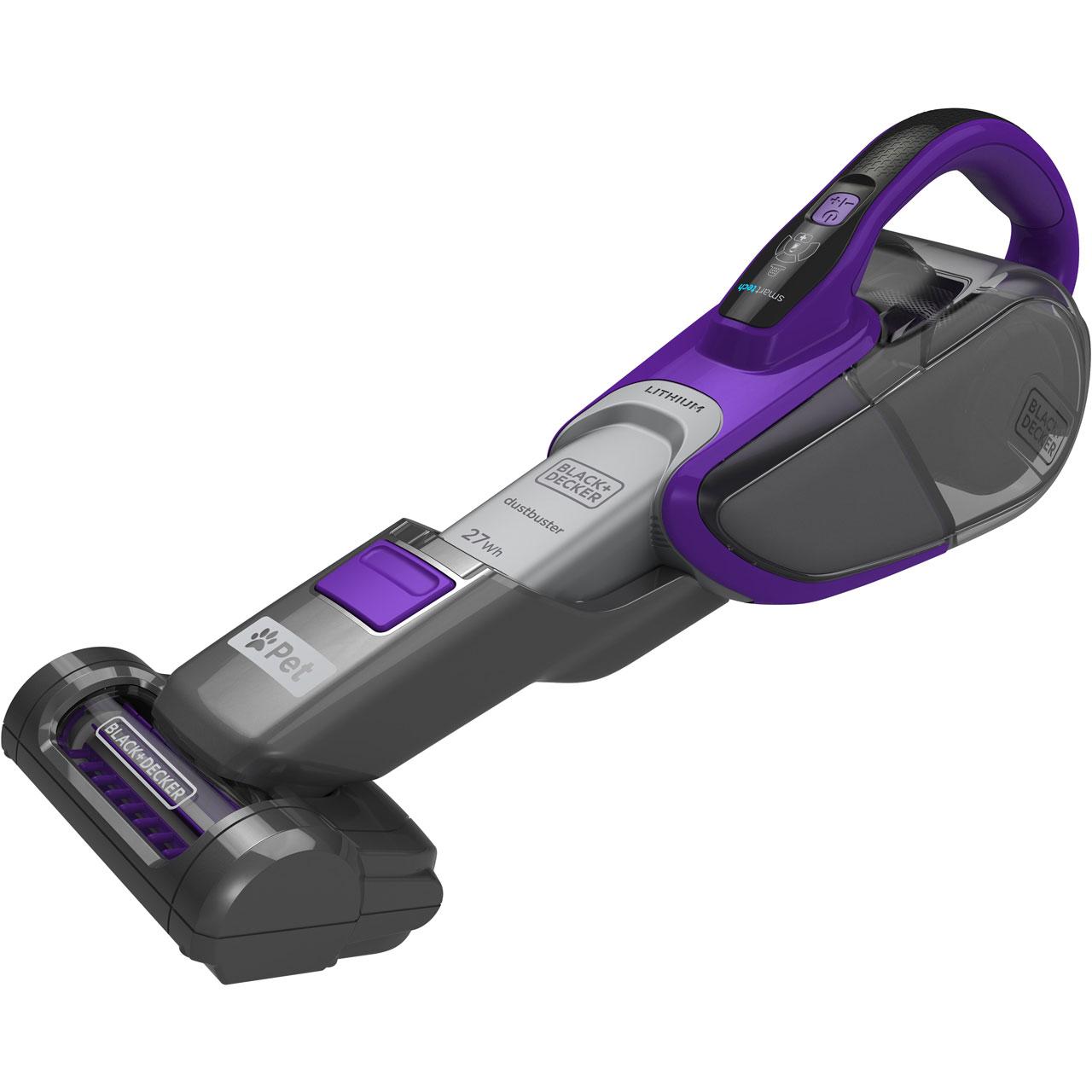 Black & Decker Pet Range DVJ325BFSP-GB Handheld Vacuum £62.10 @ AO.com