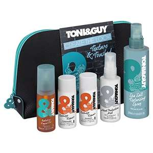 Toni & Guy Texture & Tousled Wash Bag Gift Set via Amazon Prime £6.27 (+£3.99 delivery for non-prime)