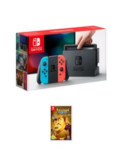 Pre-Order Nintendo Switch Console Neon Red/Blue or Grey + Rayman Legends: Definitive Edition £294.99 @ Game