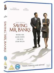 Saving Mr Banks DVD - £1.66 (Prime) / £3.65 non prime with £1 amazon video benefit