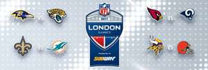 NFL on Regent Street 30th September 2017