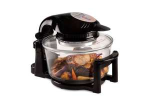 Andrew James Premium 12/17 Litre Digital Halogen Oven with Hinged Lid - Black £53.67 Delivered @ Andrew James