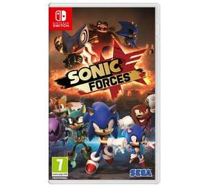 Sonic Forces Nintendo Switch Pre-Order Game @ Argos £27.99