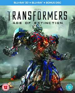 Transformers: Age of Extinction (Blu-ray 3D + Blu-ray + Bonus disc) £4.50 at Zoom.co.uk with code SIGNUP10