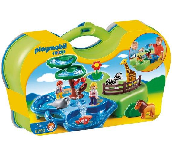 Playmobil 6792 1.2.3 Take Along Zoo & Aquarium £13.99 @ Argos