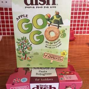 Little dish biscuits and meal £1.19 in Waitrose