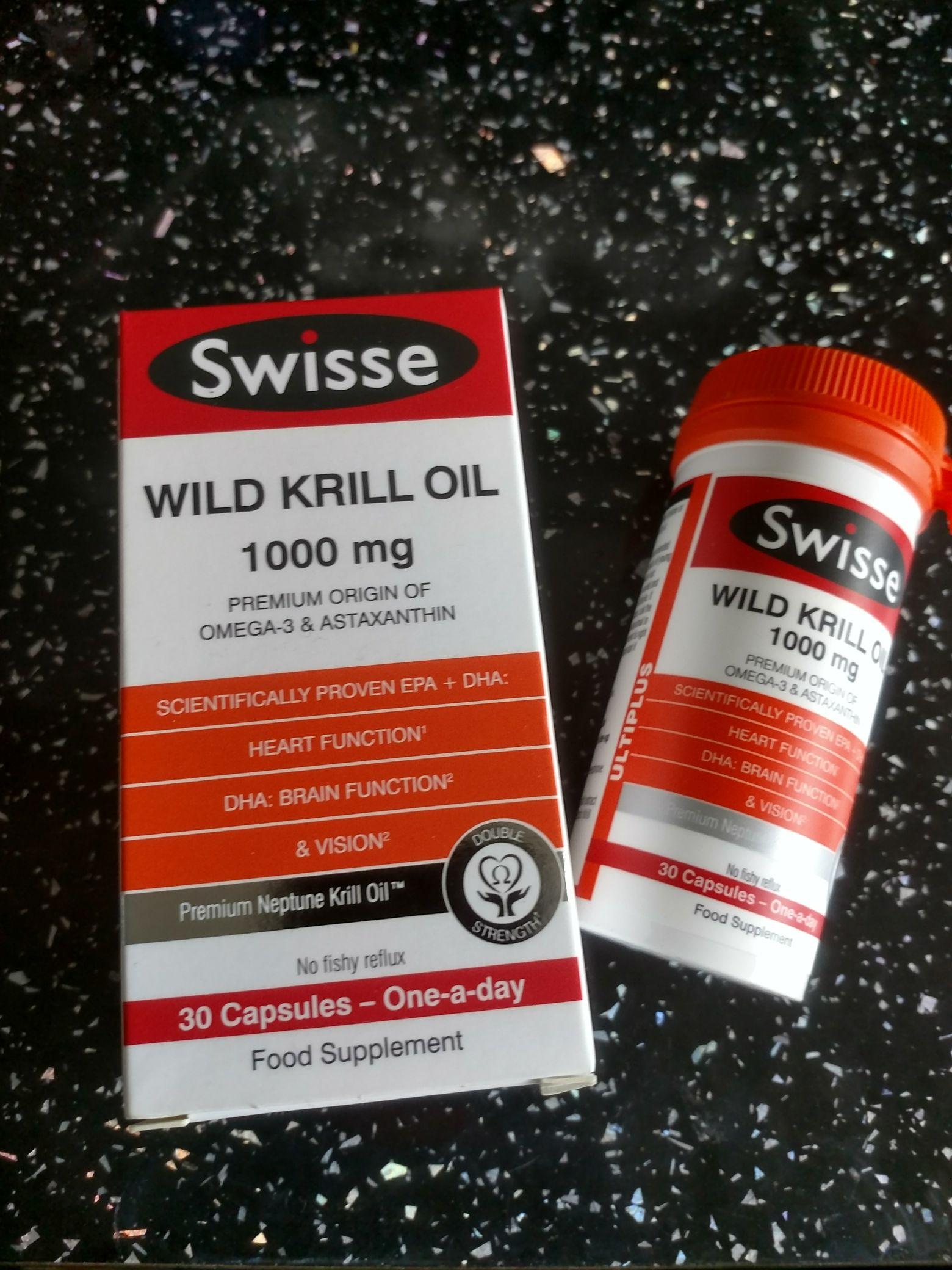 Swisse krill oil 1000mg 30 capsules £4.49 @ Home Bargains