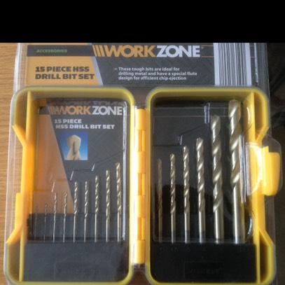 Works Hss drill bit set £3.99 from Aldi