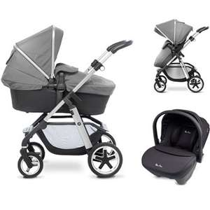 Silver Cross Pioneer + Simplicity Car Seat + Hood & Apron Pack + Changing Bag - £744.98 @ Toys R Us