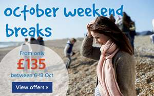 Mon-Fri October Half Term holiday for 4 at Haven