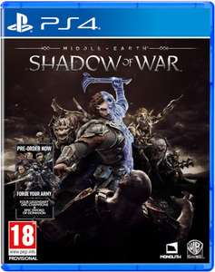 Middle-earth : shadow of war. Ps4/Xbone £38.99 @ Zavvi