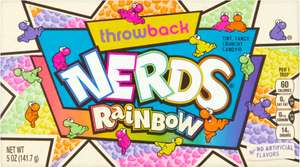 Wonka Rainbow Nerds (141.7g) was £2.50 now £1.50 @ Morrisons