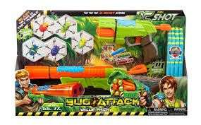 Xshot bug attack value pack £6.99 @ Argos eBay outlet