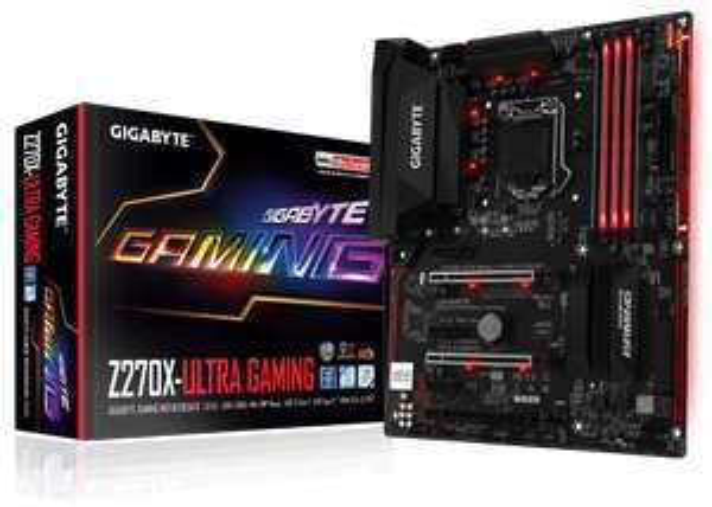 Gigabyte Z270X-Ultra Gaming Motherboard with free Cooler Master Hyper 212 LED Cooler £134.99 @ CCL