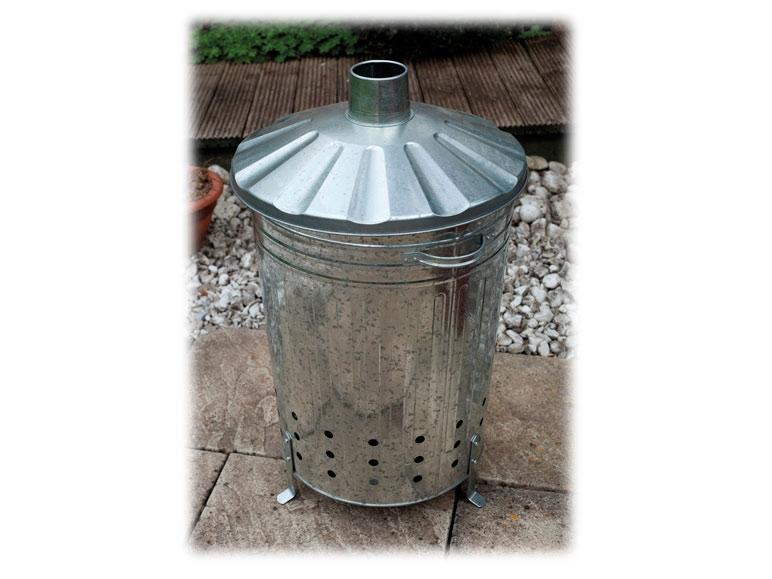 Garden incinerator (galvanised steel) 93 litres £14.99 (RRP £30) Lidl