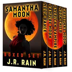 Huge Savings On These Amazon Top 100 Bestsellers - for over one year!  - J.R. Rain - Samantha Moon: The First Four Vampire for Hire Novels (Plus Three Bonus Novels) Kindle Edition   - Free Download @ Amazon