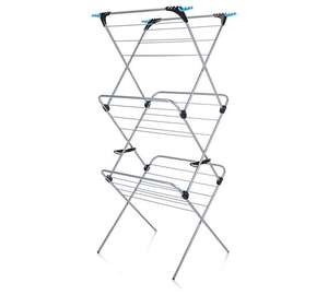 Minky 3 Tier 21M Indoor Clothes Airer With Flip Outs at Tesco for £16