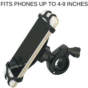 Mack V Rider - Bike Phone Mount Sold by Vali Store and Fulfilled by Amazon £1.99 Prime (£3.98 non-Prime)