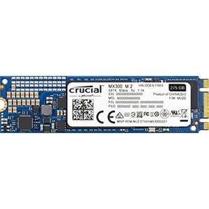 Crucial MX300 275GB M.2 (2280) Internal Solid State Drive - CT275MX300SSD4 Used - Very good - £73.68 @ Amazon warehouse