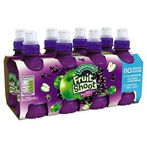 Fruit Shoot 8pack most varieties £1.47-£1.50 or 3 for 2 works at 98p-£1 each for 8packs @ amazon fresh