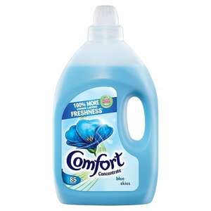 Comfort Blue Skies/Pure Concentrate Fabric Conditioner, 85 Washes £3 each glitch working as 3 for 2 so £2 each @amazon fresh
