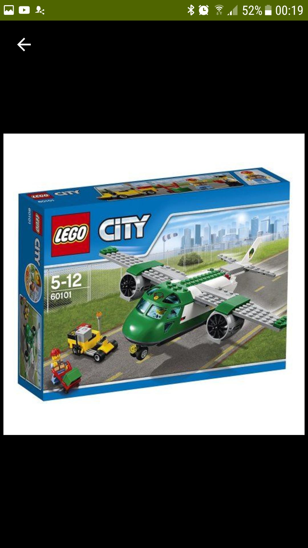 Lego 60101 Cargo plane £11.99 @ Argos